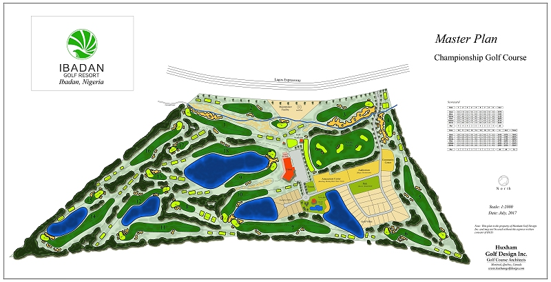 Ibadan Golf Resort Master Plan